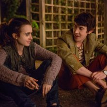 Fino all'osso: una scena con Lily Collins e Alex Sharp