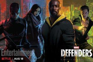 The Defenders: la locandina creata per il Comic-Con