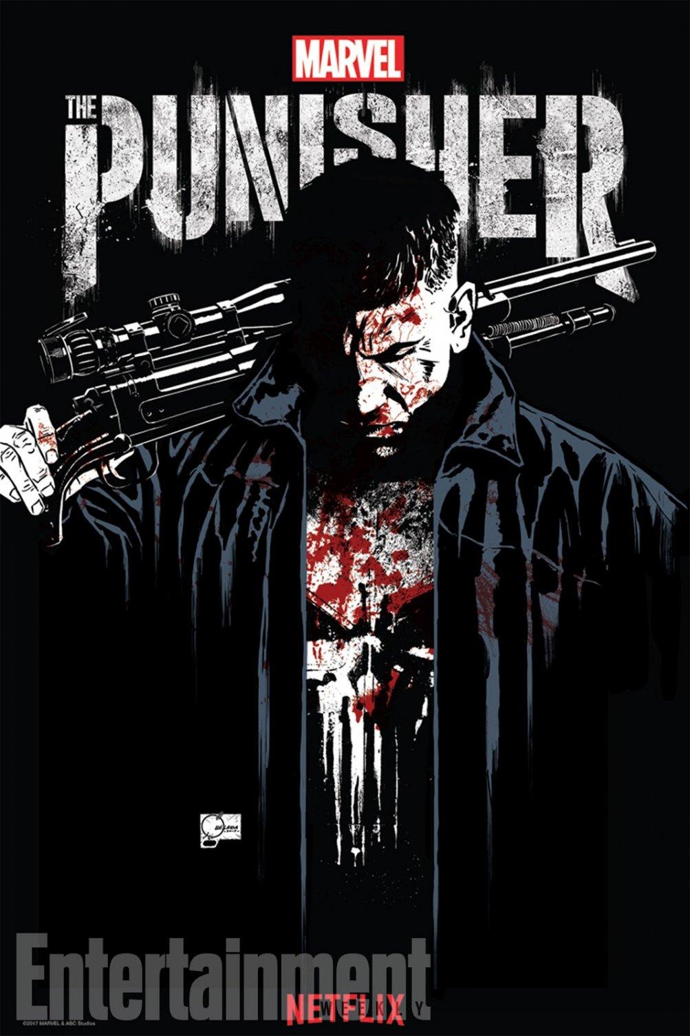 The Punisher: il poster realizzato per il Comic-Con