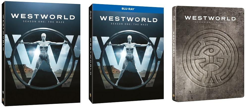 le cover homevideo di Westworld
