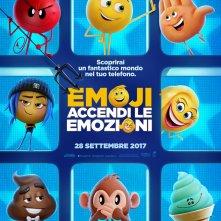 Locandina di Emoji: Accendi le emozioni