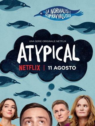 Atypical: il poster della serie di Netflix