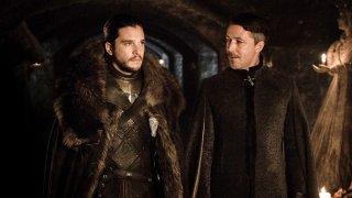 Il Trono di Spade: Kit Harington e Aidan Gillen in Stormborn