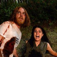 The Devil's Candy: Ethan Embry e Shiri Appleby in una scena del film