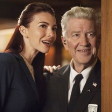 I segreti di Twin Peaks: Chrysta Bell  David Lynch in una scena