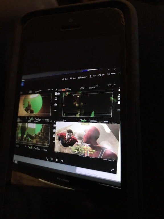 Avengers: Infinity War, una foto dal set che ritrae i monitor