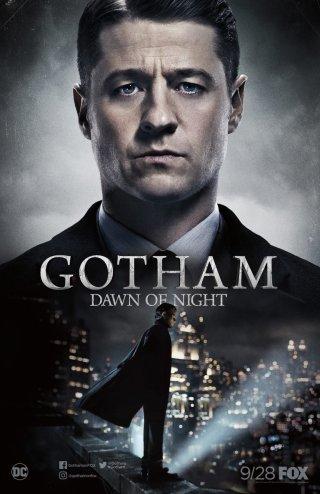 Gotham: il poster del San Diego Comic-Con della stagione 4