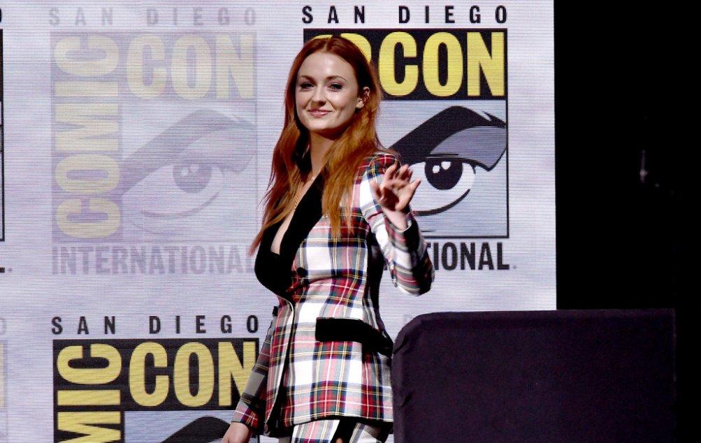 Sophie Turner al Comic-Con 2017
