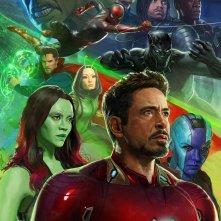 Avengers: Infinity War, uno dei tre poster realizzati per il Comic-Con