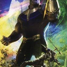 Avengers: Infinity War, il poster realizzato per il Comic-Con