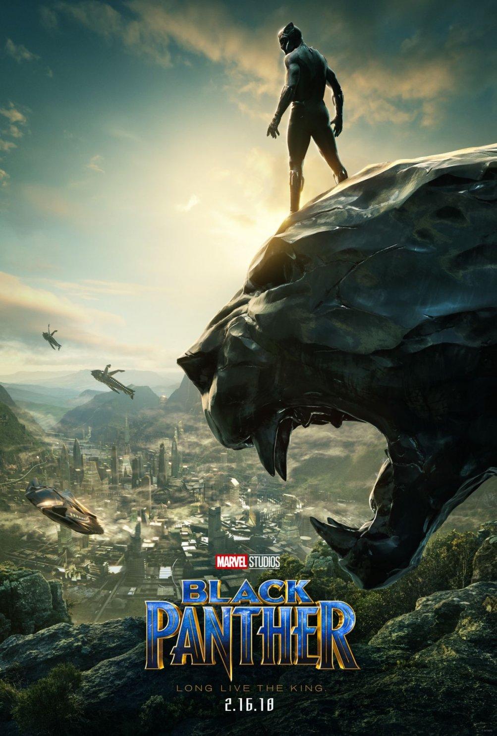Black Panther: la nuova locandina del film