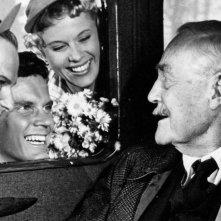 Il posto delle fragole: Victor Sjöström in una scena del film