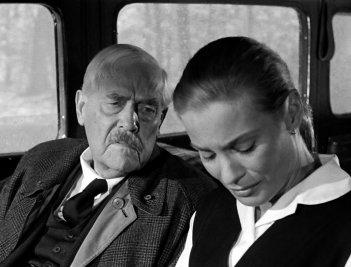 Il posto delle fragole: Victor Sjöström in un momento del film