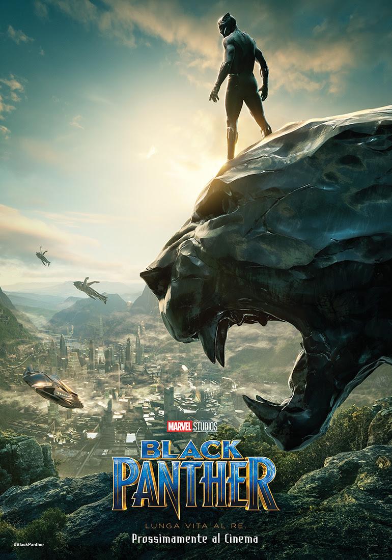 Black Panther: la locandina italiana del film