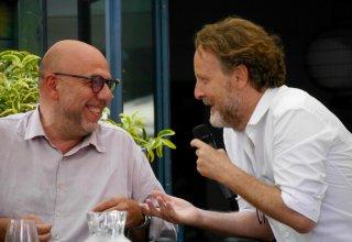 Paolo Virzì e Francesco Bruni insieme a Castiglioncello