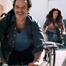 Sette giorni: Alessia Barela e Bruno Todeschini in un momento del film