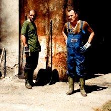 Veleno: Massimiliano Gallo e Gennaro di Colandrea in una scena del film