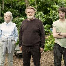 Appuntamento al parco: Diane Keaton, Brendan Gleeson e Hugh Skinner in un momento del film