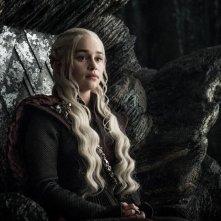 Il Trono di Spade: Emilia Clarke in una foto di The Queen's Justice