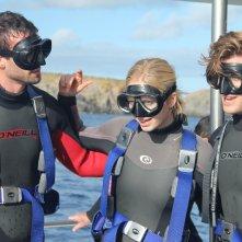 Open Water 3: i tre protagonisti in un momento del film