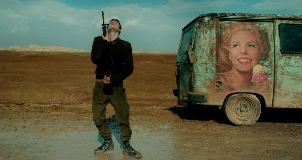 Foxtrot: un'immagine tratta dal film