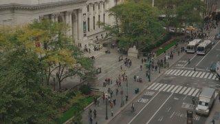 Ex Libris: New York Public Library, un'immagine tratta dal documentario