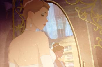 Gatta Cenerentola: un momento del film animato