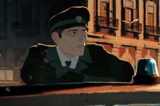 Gatta Cenerentola: una scena del film animato