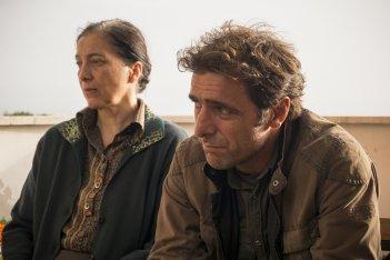 Il colore nascosto delle cose: Adriano Giannini e Maria Cristina Mastrangeli in una scena del film