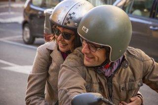 Il colore nascosto delle cose: Valeria Golino e Adriano Giannini in un momento del film