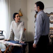 L'equilibrio: Astrid Meloni e Mimmo Borrelli in una scena del film
