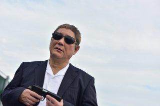 Outrage Coda: Takeshi Kitano in un momento del film