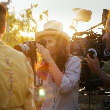 Zama: la regista Lucrecia Martel sul set del film
