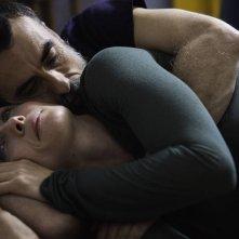 Amori che non sanno stare al mondo: Thomas Trabacchi e Lucia Mascino in una scena