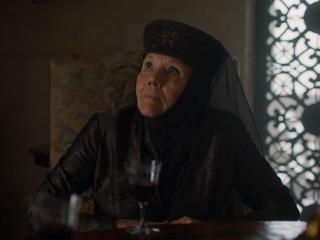 Il trono di spade: Diana Rigg nell'episodio La giustizia della Regina