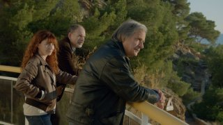 La Villa: Robinson Stévenin, Ariane Ascaride e Jean-Pierre Darroussin in un momento del film