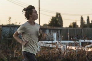 Lean on Pete: Charlie Plummer corre in una scena del film