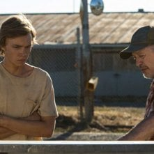 Lean on Pete: Charlie Plummer e Steve Buscemi in una scena del film