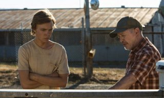 Lean on Pete: Charlie Plummer e Steve Buscemi in una scena del film