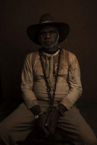 Sweet Country: un'immagine che ritrae il protagonista del film