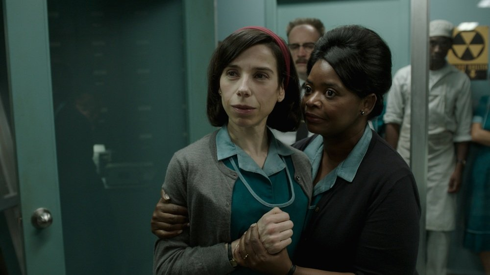 The Shape Of Water Octavia Spencer Sally Hawkins