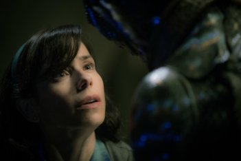 The Shape of Water: un primo piano di Sally Hawkins