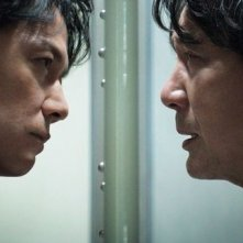 The Third Murder: Masaharu Fukuyama e Koji Yakusho in un momento del film