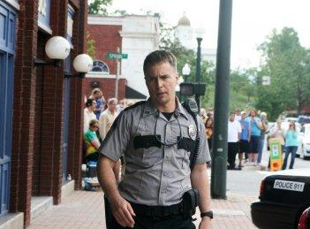 Tre manifesti a Ebbing, Missouri: Sam Rockwell sul set del film