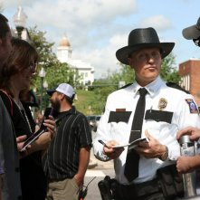 Tre manifesti a Ebbing, Missouri: Woody Harrelson sul set del film