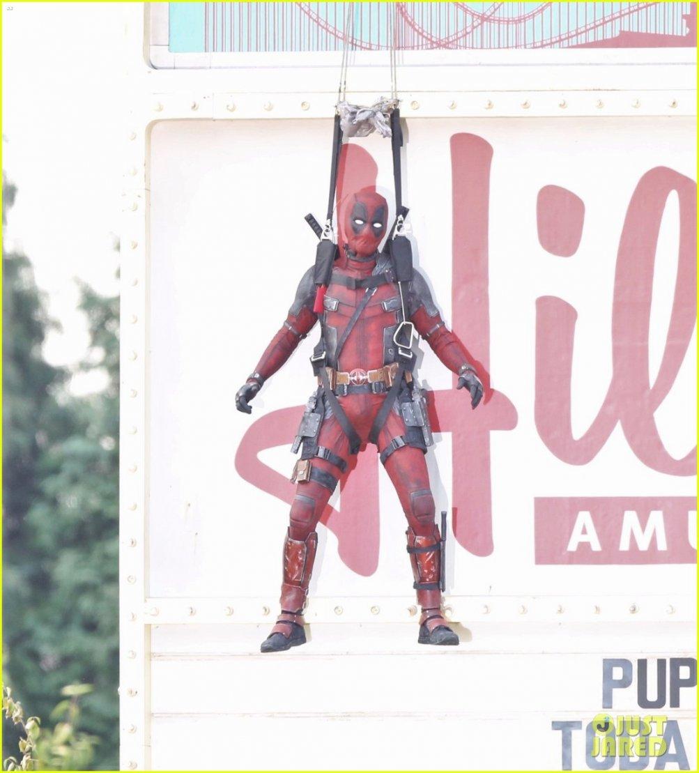Deadpool: una foto dal set del sequel del film