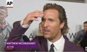 Matthew McConaughey scopre la morte di Sam Shepard in diretta sul red carpet