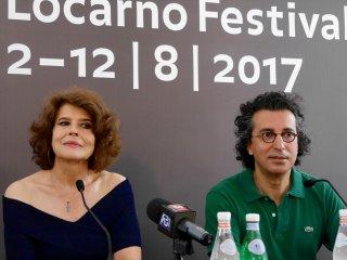 Lola Pater: Fanny Ardant e il regista Nadir Moknèche a Locarno