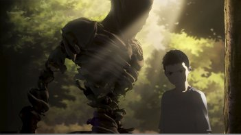 Ajin: Kei in una scena dell'anime