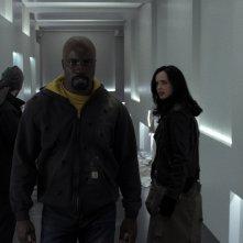 The Defenders: una scena di gruppo della prima stagione